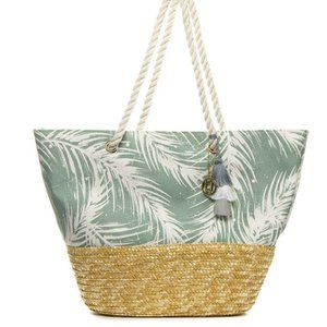 COPY - NEW Cabana Palm Tote BagNWT
